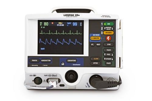 Cardioversor e desfibrilador Lifepak 20 da Physio Control